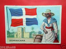 figurines cromos cards figurine sidam gli stati del mondo 60 dominicana bandiere