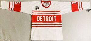 1991 Vladimir Konstantinov Detroit Red Wings 75th Anniversary Jersey Men's Large