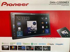 Pioneer DMH-C2550NEX Mechless Digital Media Receiver Free SiriusXM Tuner  NEW