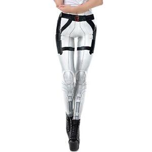 Star Wars Stormtrooper Themed Style Leggings For Yoga & Pilates OSFM