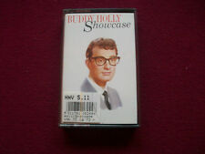 BUDDY HOLLY - 'Showcase' - UK Audio Cassette Tape Album MCA MCLC1824 Excellent