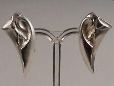 Lapponia Echter Edelmetall-Ohrschmuck ohne Steine aus Sterlingsilber für Damen