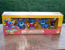 DisneyLand STITCH'S Alien Lifeforms SET Theme Park Edition Lilo & Stitch Playset