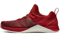 NIKE METCON FLYKNIT 3 Running Weightlifting Gym - UK Size 9 (EUR 44) Mystic Red