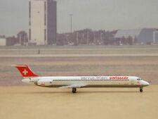 """Swissair MD-81 (HB-IND) """"Servus Wien"""", 1:400 DW 55337"""
