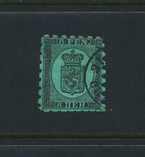 Finland 1874, 8p (1¼mm Perfs) Vf Used Sc#7b