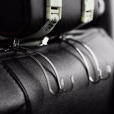 Car Back Seat Double Hook Auto Headrest Hanger Clothes Purse Bag Holder HangeRIB