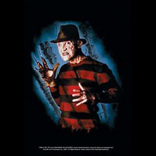 NIGHTMARE ON ELM STEET - FREDDY - FABRIC POSTER - 30x40 WALL HANGING - HFL0568