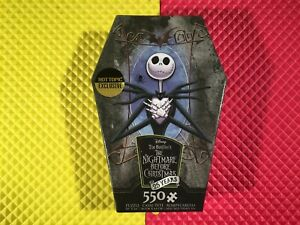 2018 Disney The Nightmare Before Christmas 25 Years 550 Pc Puzzle New Sealed WOW