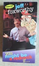 You Might Be a Redneck If... ~ 1997 VHS - Jeff Foxworthy - Tape