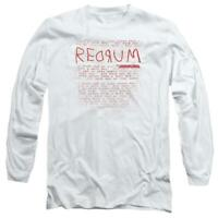 The Shining t-shirt retro 80s horror movie long sleeve graphic tee WBM563