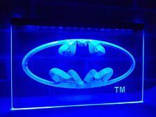 Batman Super Hero LED Neon Light Sign Plate Flag Bar Club Pub Advertise Decor