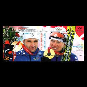 Estonia 2006 - Winter Olympic Winners - Turin, Italy - Sc 539 MNH