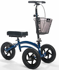 All Terrain KneeRover LOADED WITH ACCESSORIES Heavy Duty Crutches Alternative