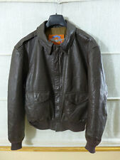 #Z36 USAF Air Force COOPER A2 Flight Jacket  Fliegerjacke A-2 Pilotenjacke US48R