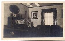 Abstract Still Life 1930s Living Room Piano Music Jesus Picture Vintage Photo