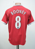 MANCHESTER UNITED 2006/2007 HOME FOOTBALL SHIRT JERSEY NIKE ROONEY # 8 SIZE S