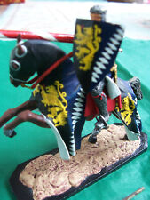 54mm 1/32 metal Niena of St. Petersburg mounted knight (2)