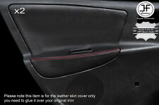 Red tale 2x PORTA POSTERIORE IN PELLE DECORAZIONE CARTA copre si adatta a Peugeot 207 07-14 5 PORTE