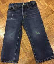 Girl's Baby Gap Blue Jeans (Size  18-24 mos)