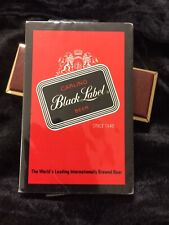 Carling Black Label Beer Sealed Deck Of Playing Cards Usa