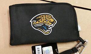 Jacksonville Jaguars ID Wallet Wristlet Cell Phone Case Charm 14 Purse