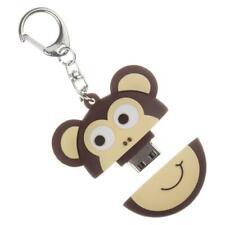 My Doodles 8 GB USB Fun Novelty Flash Drive Memory Stick With Keyring  - Monkey