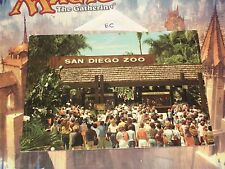 San Diego Zoo Entrance Gate Tourist Vacation World Famous Rare HTF Admission