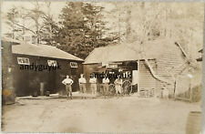 More details for real photo postcard brent pelham hall stables hertfordshire coach