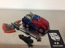 Transformers Generations Cybertronian Optimus Prime DLX Class 100% Complete