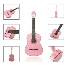 "New MBAT 39"" Classical Pink Guitar with Bag & String & Cloth & Strap & Picks"