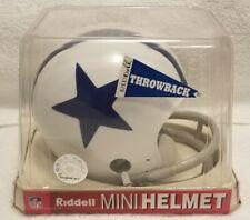 1960-1963 Dallas Cowboys Riddell Throwback Mini Helmet - NEW Still In Box
