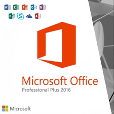 Microsoft Office 2016 Professional Plus 5 Users (Office 365)