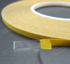 Double Sided Adhesive Tape High Temperature Clear 5mmx50mx0.2mm