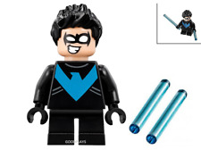 LEGO SUPER HEROES Mighty MICRO Nightwing Minifigure New from set 76093 minifig