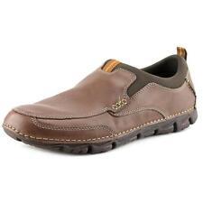 Zapatos informales de hombre Rockport color principal marrón de piel