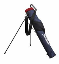 Titleist Japan Self Stand Carry Caddy Bag 4 - 6 Club Case Ajssb71 Navy