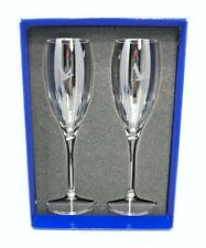 Grey Goose Collection Glass Champagne Flute Holiday Set Branded New With Tags