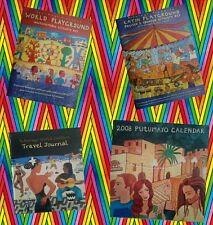 PUTUMAYO WORLD LATIN PLAYGROUND Activity Kit, Travel Journal & Calendar