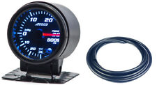 "52mm 2"" Turbo Boost Gauge psi Digital Sensor /Analogue Display + Black Hose"