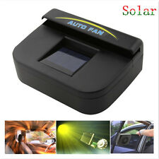 Solar Powered Window Windshield Air Vent Cooling Fan System Cooler Car Pickup