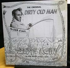 RECORD ALBUM THE ORIGINAL DIRTY OLD MAN STRIKES AGAIN D.O.M. AT WORK SHRINK