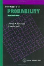 Introduction to Probability by J. Laurie Snell and Charles M. Grinstead...