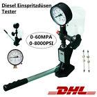 Diesel Einspritzdüsen Prüfgerät Tester Abdrückgerät Injektor 0-600Bar Test-Tool