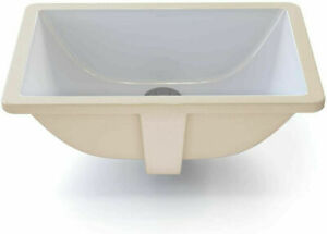 DECOLAV 1402-CWH Callensia Classically Redefined Rectangular Vitreous China Und