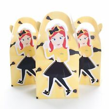 6x Emma Wiggles Lolly Loot Bag Box. Party Supplies Bunting Banner Cake Ballet
