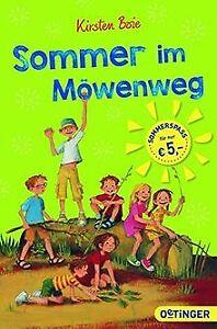 Sommer im Möwenweg: Sommeraktion 2017 von Boie, Kirsten   Buch   Zustand gut