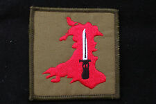 British Army - Infantry Training Brecon - Sew On Patch - No1083