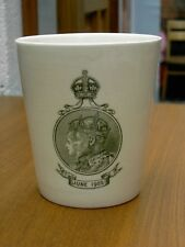 Royal Doulton 1902 The Kings Coronation Dinner Beaker In Good Con. Free UK P&P