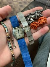 Nice estate Jewelry Lot, vintage And Jewelry and Watches!! NR